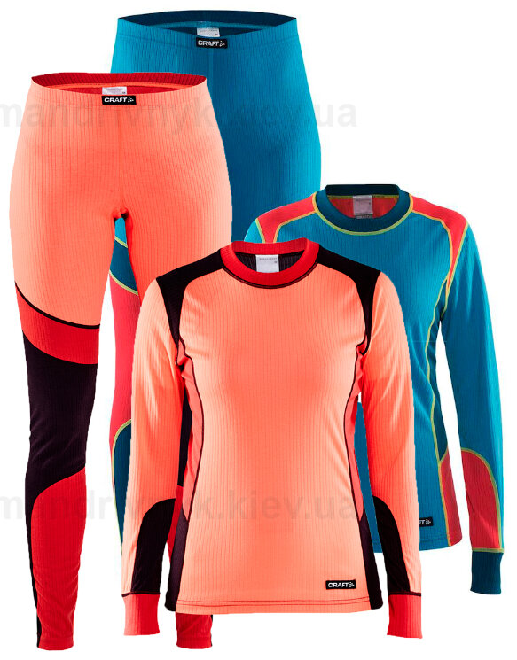 Комплект термобелья Craft Craft Active Baselayer Set Women 1905331